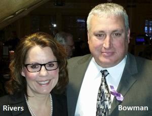 Ann Rivers and Shane Bowman