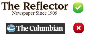columbian reflector