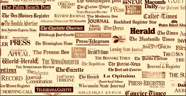 old media logos